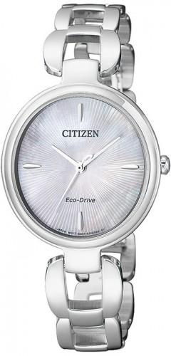 นาฬิกาผู้หญิง Citizen รุ่น EM0420-89D, Eco-Drive Sapphire