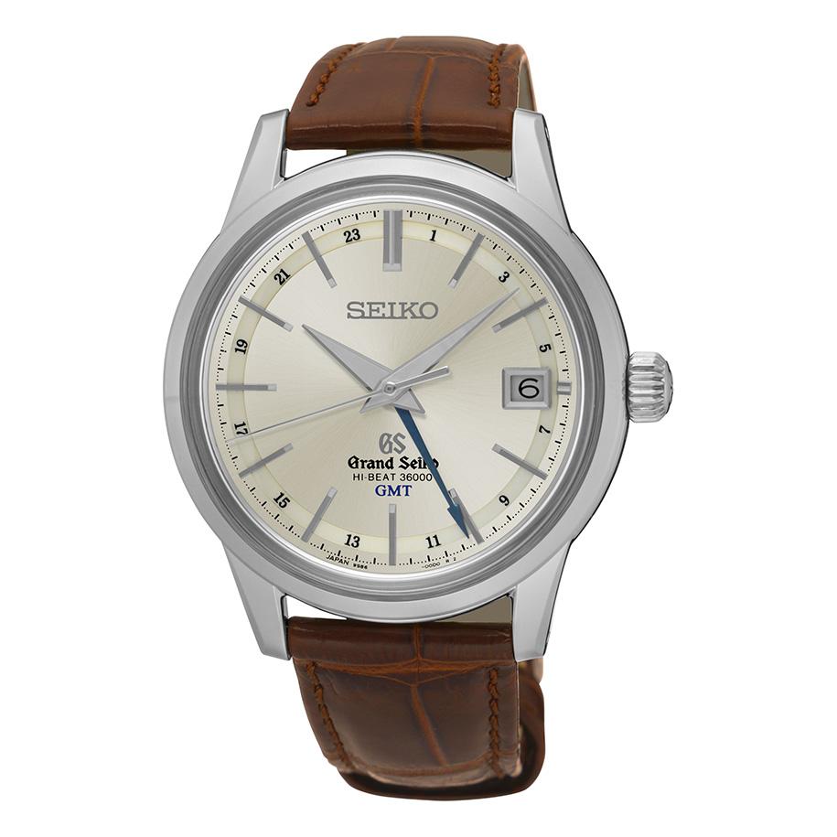 นาฬิกาผู้ชาย Grand Seiko รุ่น SBGJ017, HI-BEAT 36000 GMT