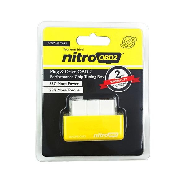 กล่อง Nitro OBD2 กล่องเหลืองสำหรับเครื่องเบนซิน
