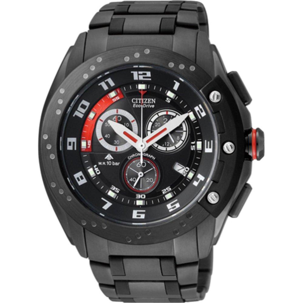 นาฬิกาผู้ชาย Citizen Eco-Drive รุ่น JR4046-03E, Promaster Chronograph Watch