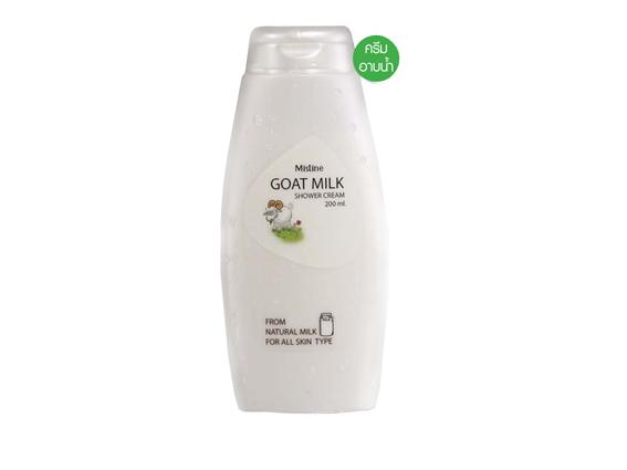 ครีมอาบน้ำ มิสทิน โกท มิลค์ Mistine Goat Milk Shower Cream