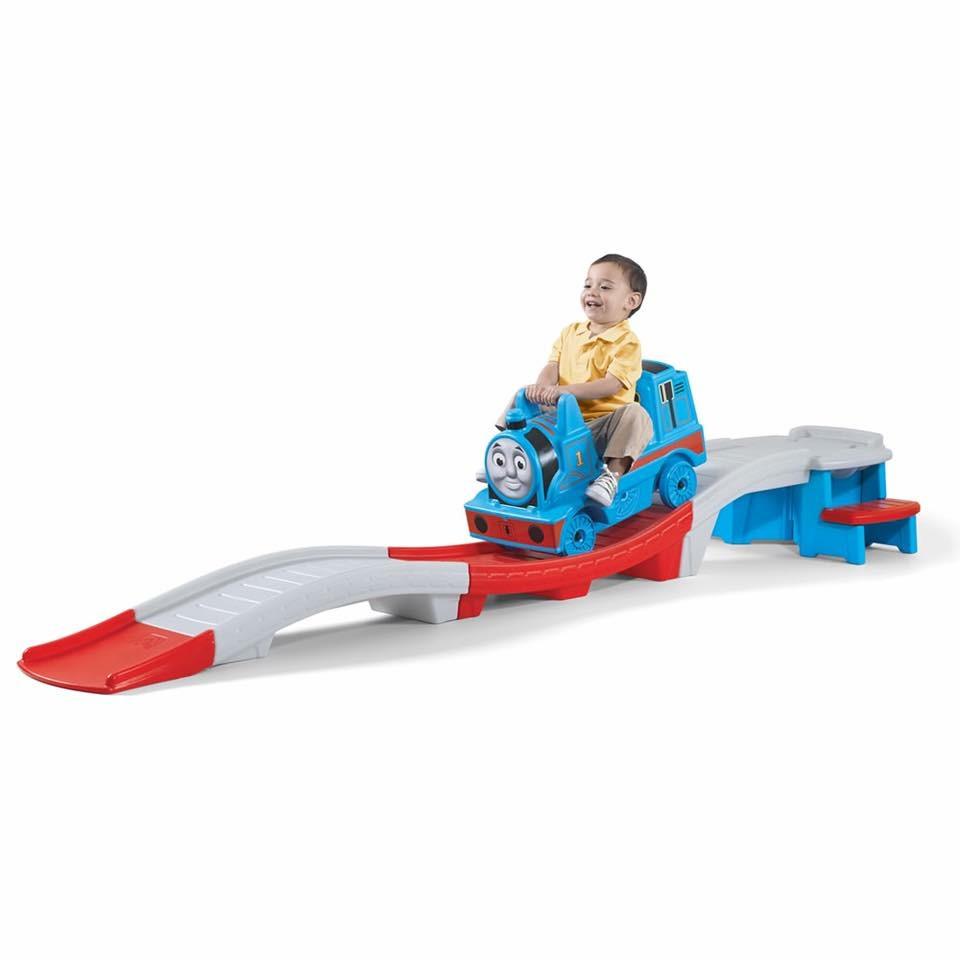 รถไฟโรลเลอร์โคสเตอร์ยอดฮิต Step2 Thomas the Tank Engine Up and Down Roller Coaster