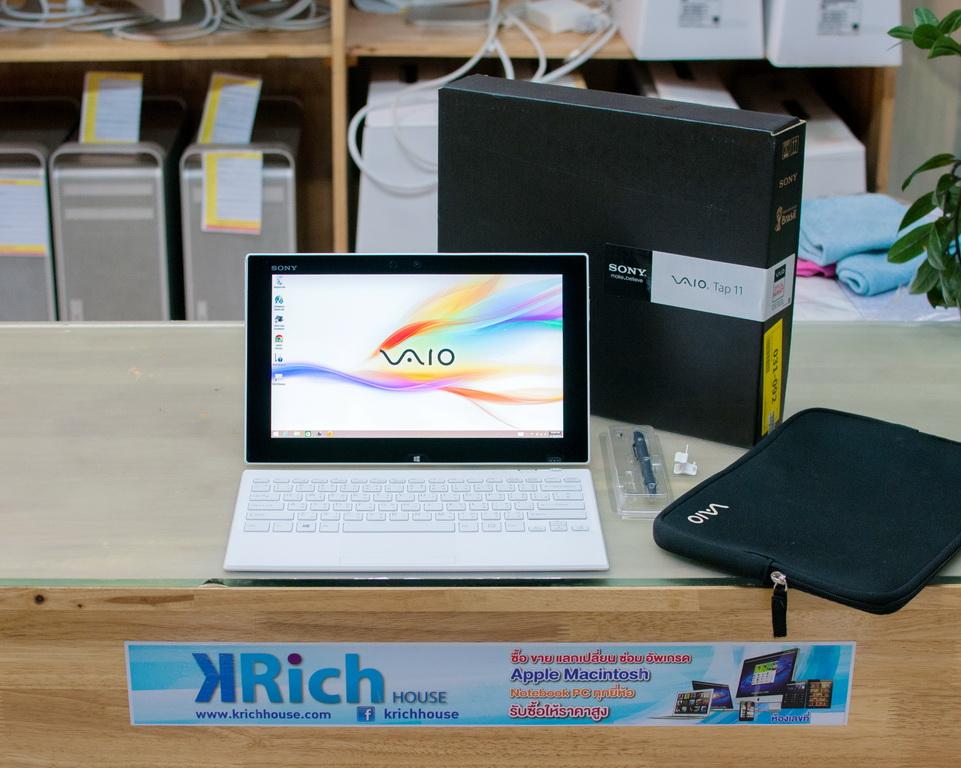 Sony vaio Tab 11 SVT11215SHW Core i5-4210Y 1.5GHz RAM 4 SSD 128 Touch Screen Windows License