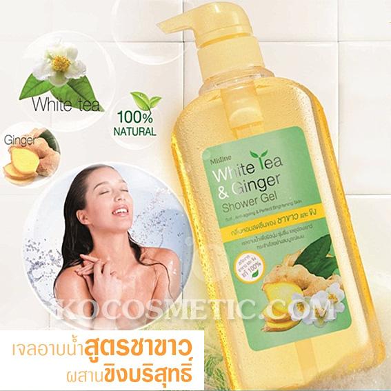 เจลอาบน้ำ มิสทิน/มิสทีน ไวท์ ที แอนด์ จินเจอร์ / Mistine White Tea and Ginger