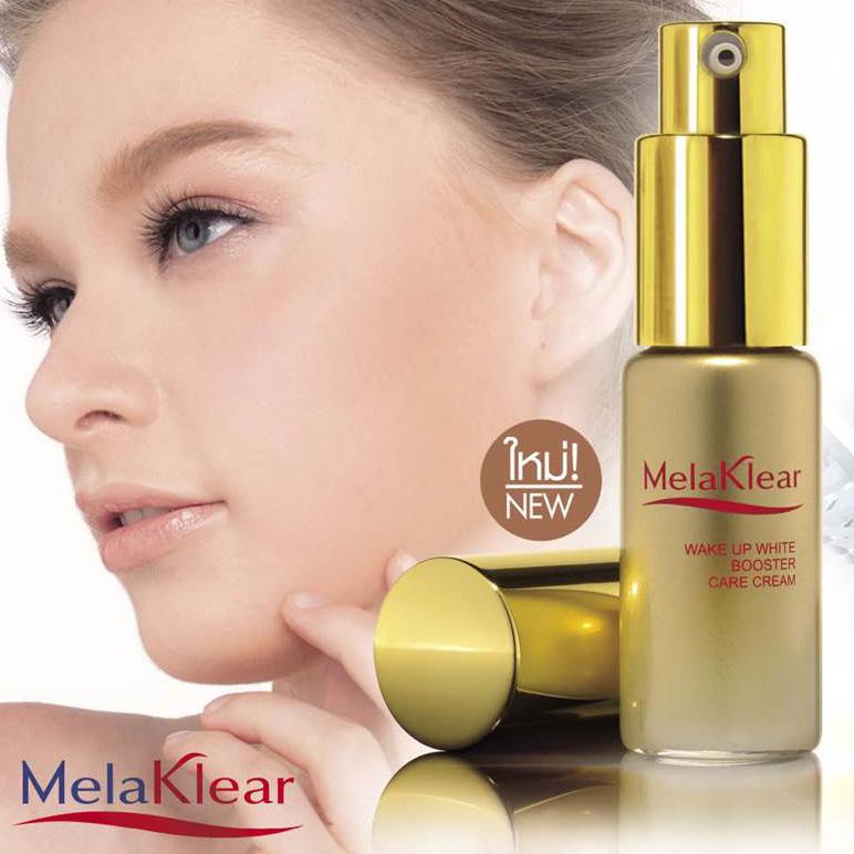 ครีมบำรุงผิวหน้า เมลาเคลียร์ เวค อัพ ไวท์ บูสเตอร์ แคร์ ครีม / Mistine MelaKlear Wake Up White Booster Care Cream