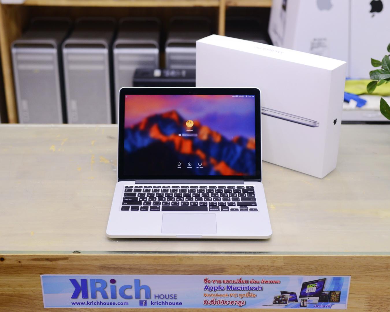 TOP MODEL - MacBook Pro (13-inch, Early 2015) - Core i5 2.9GHz RAM 8GB SSD 512GB - Fullbox