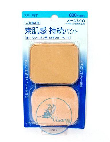 ขายส่ง 250.- (Refill #10) Shiseido Selfit Foundation Powder SPF20 PA++ 13g. Refill # 10 สำหรับผิวขาว แป้งผสมรองพื้นเนื้อบางเบา ให้ความเป็นธรรมชาติ