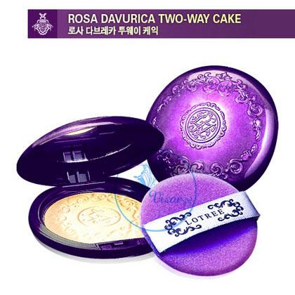 (# 23) Lotree Rosa Davurica Two-Way Cake SPF 32 PA++ # 23 สำหรับผิวขาวเหลือง แป้งผสมรองพื้นอัดแข็ง ช่วยปกปิดเนียนเรียบ มั่นใจยิ่งขึ้นค่ะ