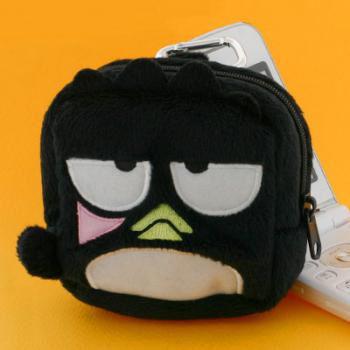 พวงกุญแจกระเป๋าอเนกประสงค์ Bad Batsumaru ลิขสิทธิ์แท้จาก Sanrio
