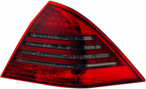 ไฟท้าย BENZ C-CLASS W203 01-07 SMOKE แดง LED