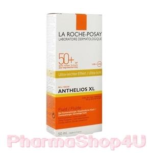 (หิ้ว) La Roche-Posay Anthelios XL Ultra Light Fluid SPF50+ 50mL สูตรบางเบาพิเศษ ซึมเร็วมาก
