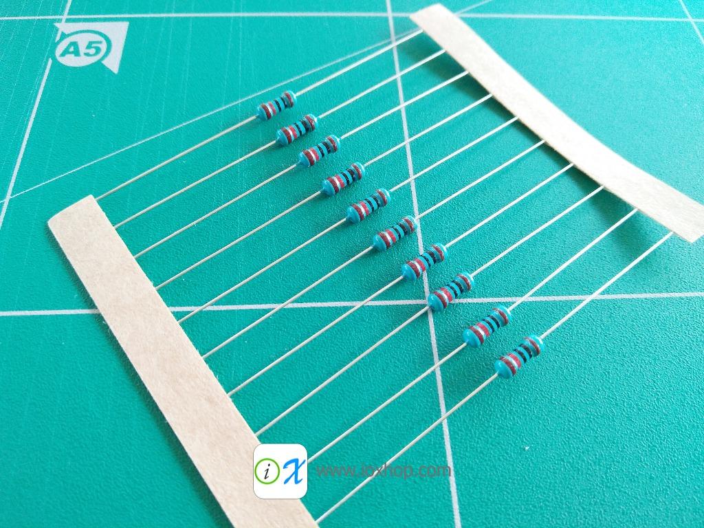 Resistor 10KE 1/4W 1% x10