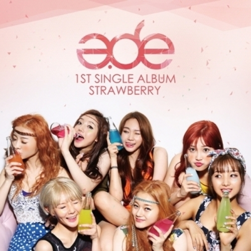 """[PRE-ORDER] A.DE - 1st Mini Album """"STRAWBERRY"""""""