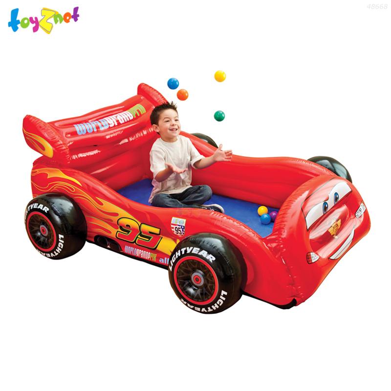 Intex บ้านบอลรถแข่ง คาร์ (บอล 10 ลูก) รุ่น 48668