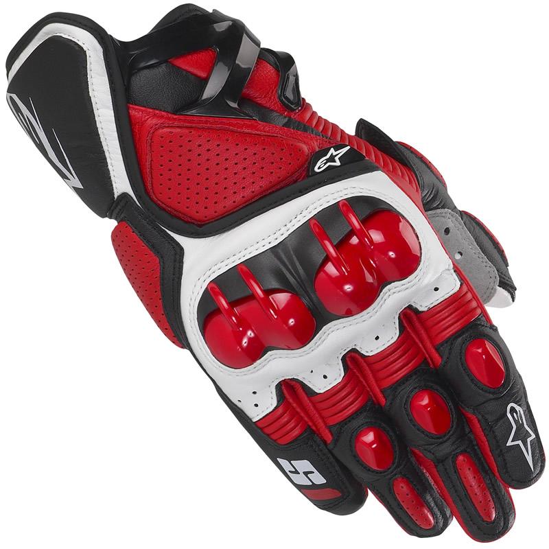 ถุงมือ Alpinestars สีแดง