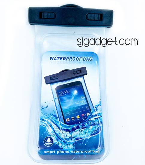 ซองกันน้ำ ดำน้ำ มือถือ 10-20m (101x215mm) (6นิ้ว)
