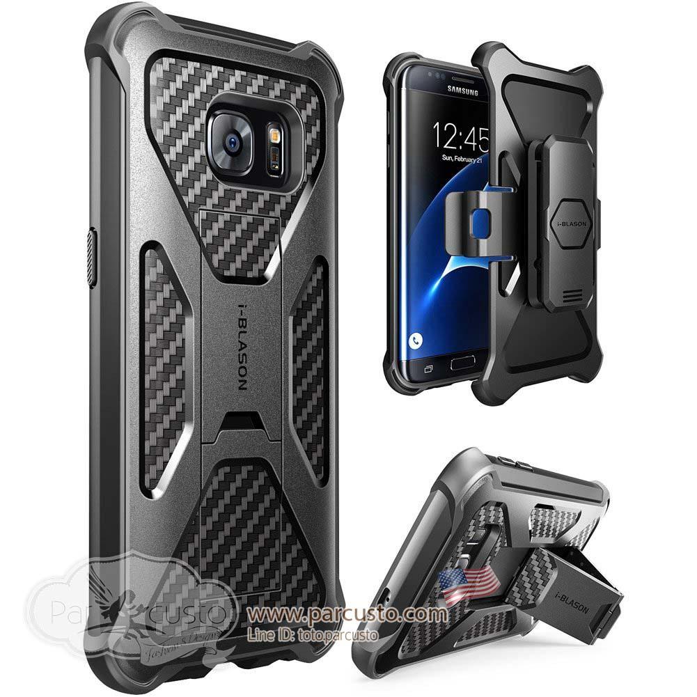 เคสกันกระแทก Samsung Galaxy S7 Edge [Kickstand] จาก i-Blason [Pre-order USA]