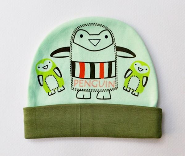 หมวกเด็กอ่อนคอตตอน 100 % (สินค้าแบรนด์)