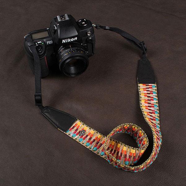 สายคล้องกล้องผ้าแฟชั่นสวยๆ แนวๆ รุ่น Zip Zap (Pre Order)