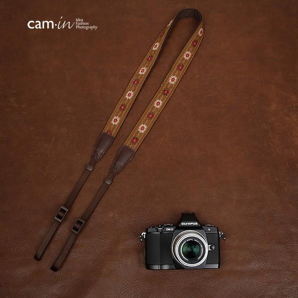 สายคล้องกล้องลายถักรุ่นสร้อยทับทิม cam-in Ruby necklace