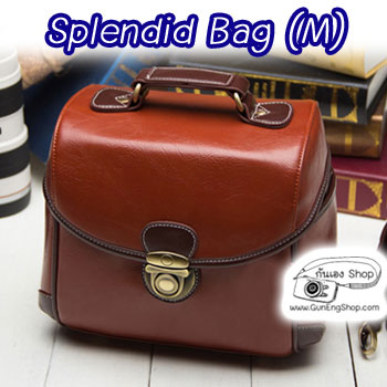 กระเป๋ากล้องแฟชั่นเกาหลี Splendid Bag (M)