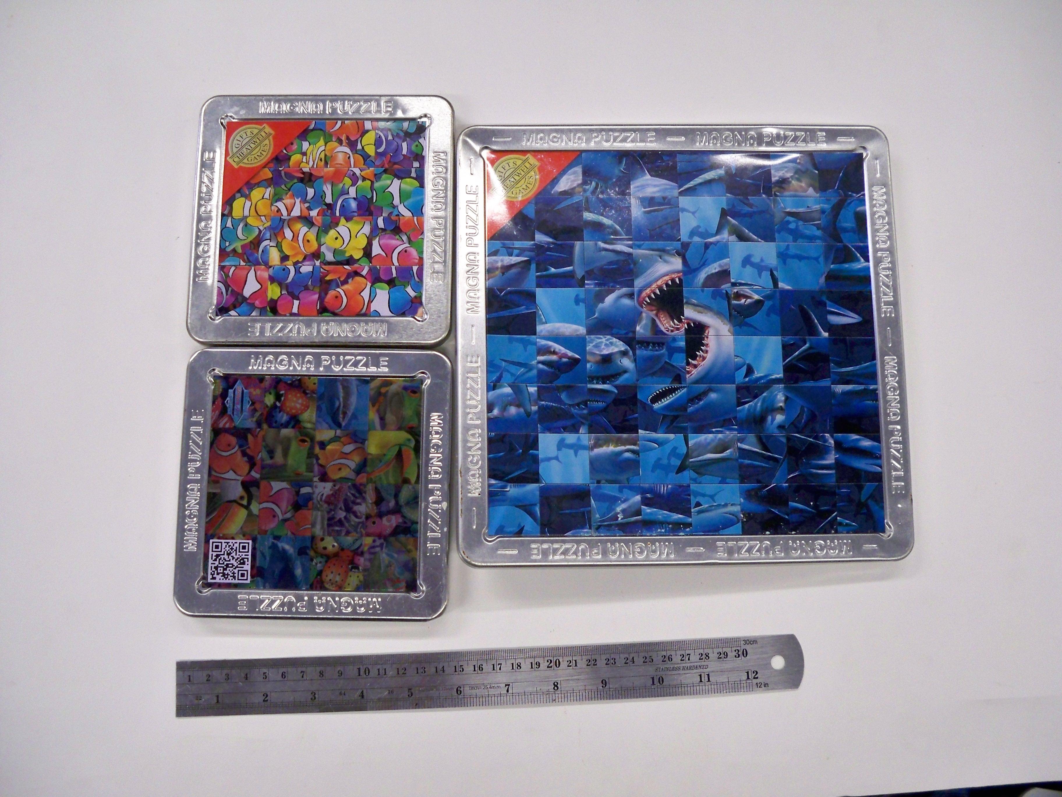 จิกซอ 3D Magna Puzzle 16 และ 64 ชิ้น