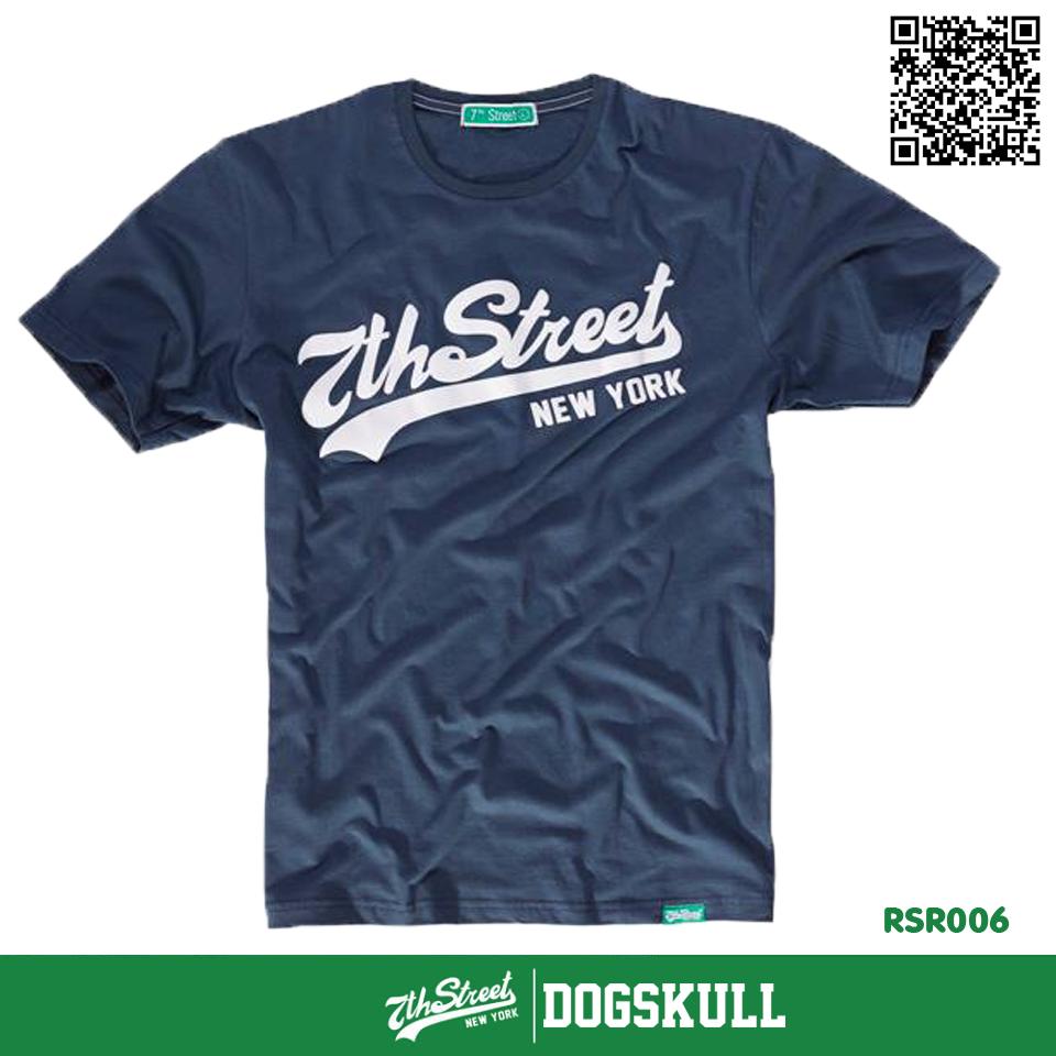 เสื้อยืด 7TH STREET - รุ่น 7th Street | Dark Blue