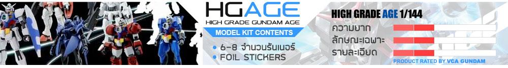 What is HG Gundam AGE กันดั้ม กันพลา คืออะไร?