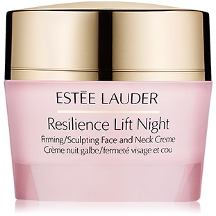 Estee Lauder Resilience Lift Night Firming/Sculpting Face and Neck Creme ขนาดทดลอง 15ml