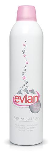 Evian Facial Spcial Spray Minerrel Water 300 ml. น้ำแร่บริสุทธิ์ จากเทือกเขาแอลป์ประเทศฝรั่งเศส ใช้ฉีดก่อนแต่งหน้าและหลังแต่งหน้า *พร้อมส่ง*