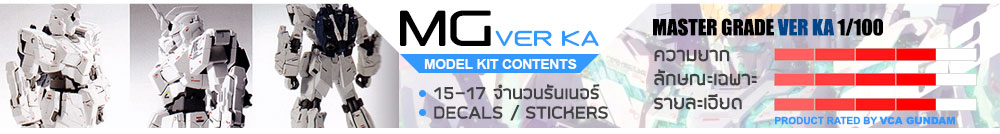 What is MG Ver KA กันดั้ม กันพลา คืออะไร?