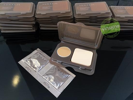 Lunasol Skin Modeling Powder Foundation SPF20 PA++ # OC03 + Smoothing Makeup Base (1g * 2 ซอง) แป้งผสมรองพื้น พร้อมพัฟ + เบส *พร้อมส่ง*