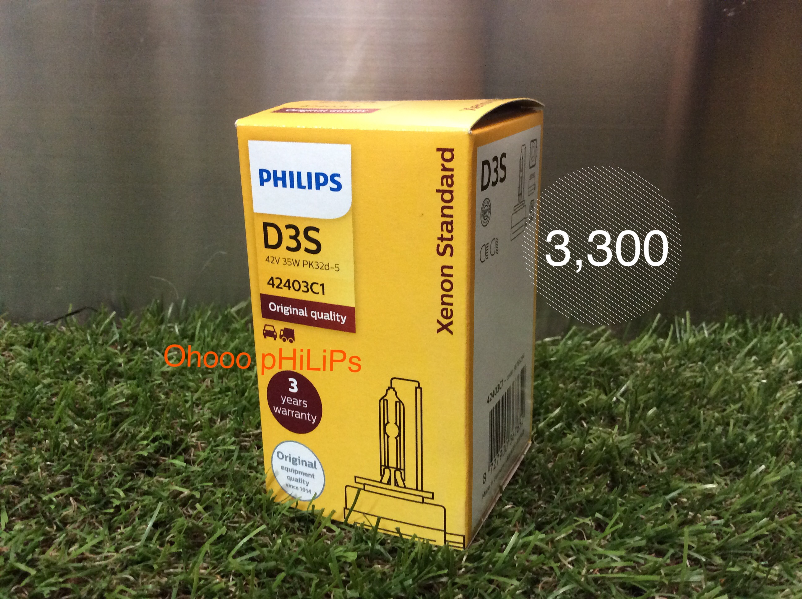 Philips Xenon D3S 4200K