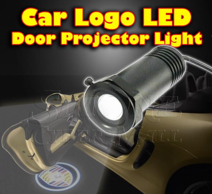 Car Logo LED Door Courtesy Projector Light