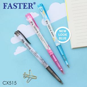ปากกา Faster CX515 (แดง)