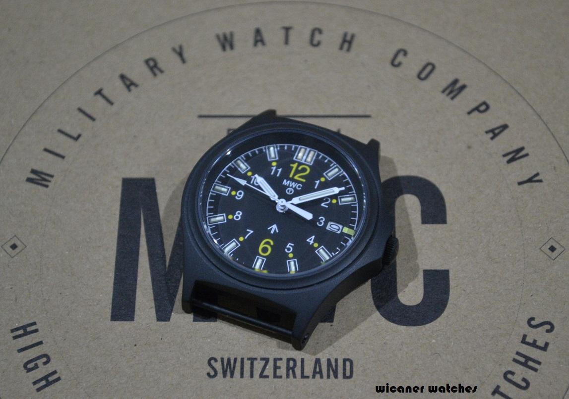 MWC G10 100m Tritium GTLS Black Titanium Military Watch
