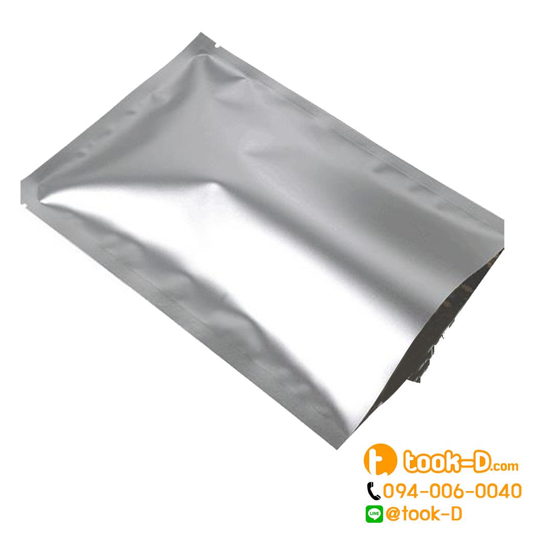 ถุงอลูมิเนียมฟอยล์ซีลสามด้าน (1 แพ็คบรรจุ 100 ใบ)
