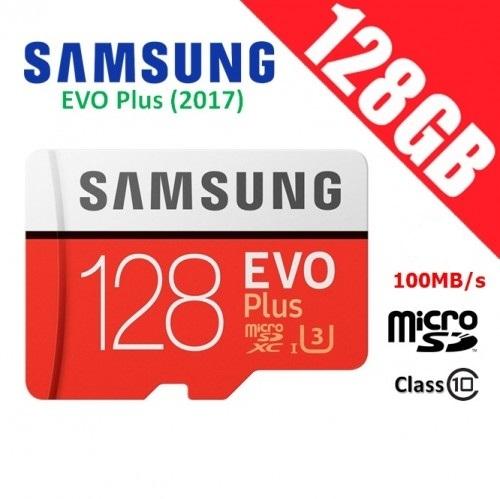 EVO Plus microSD Card 128GB ของแท้ประกันศูนย์ samsung thailand 10 ปี Class 10 U3 new version