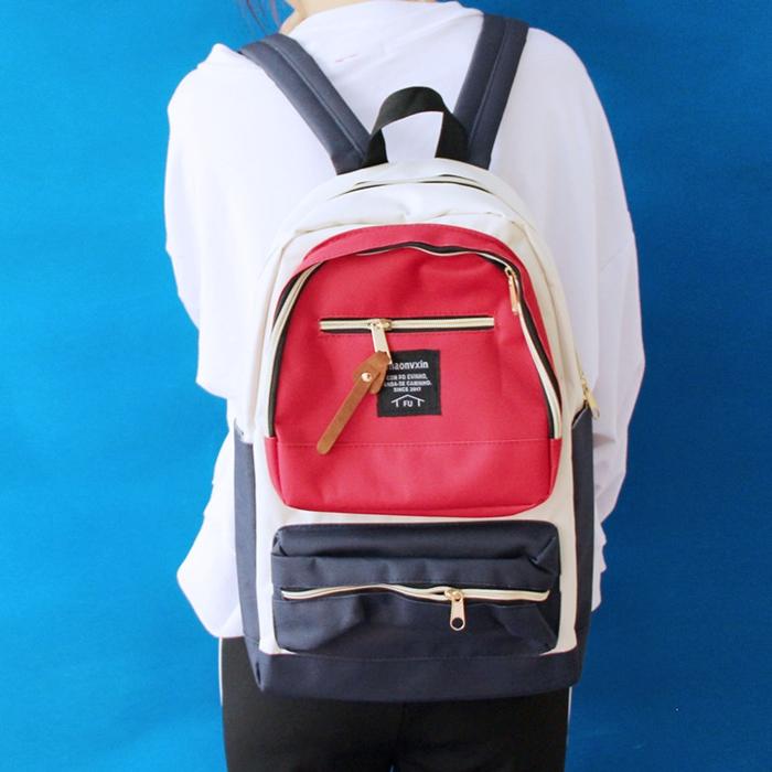 กระเป๋าเป้ ผ้า Canvas (มีให้เลือก 5 สี)