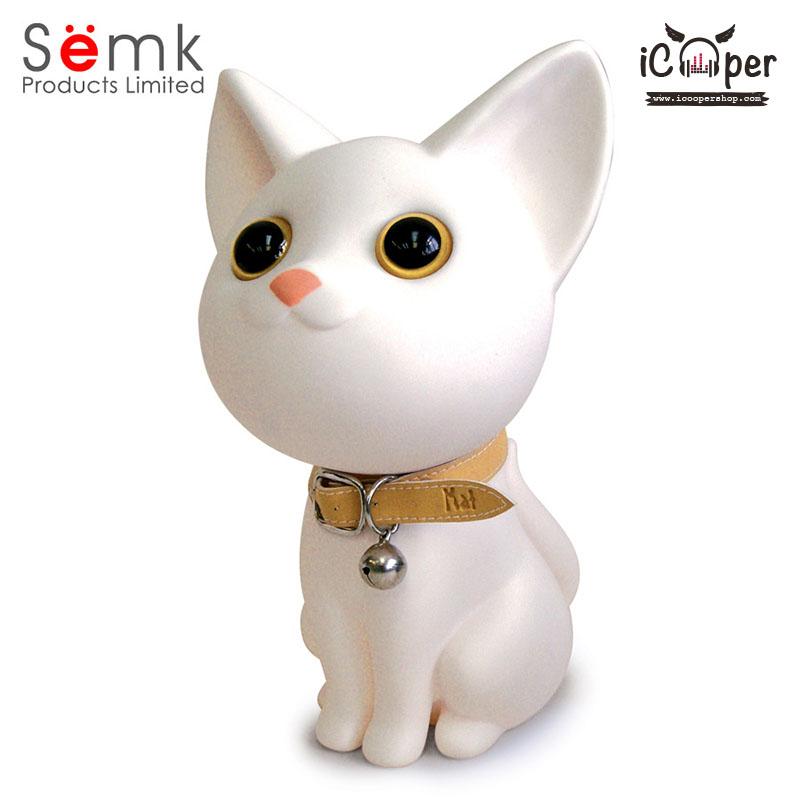 Semk - Kat Saving Bank (Sitting Cats/White)