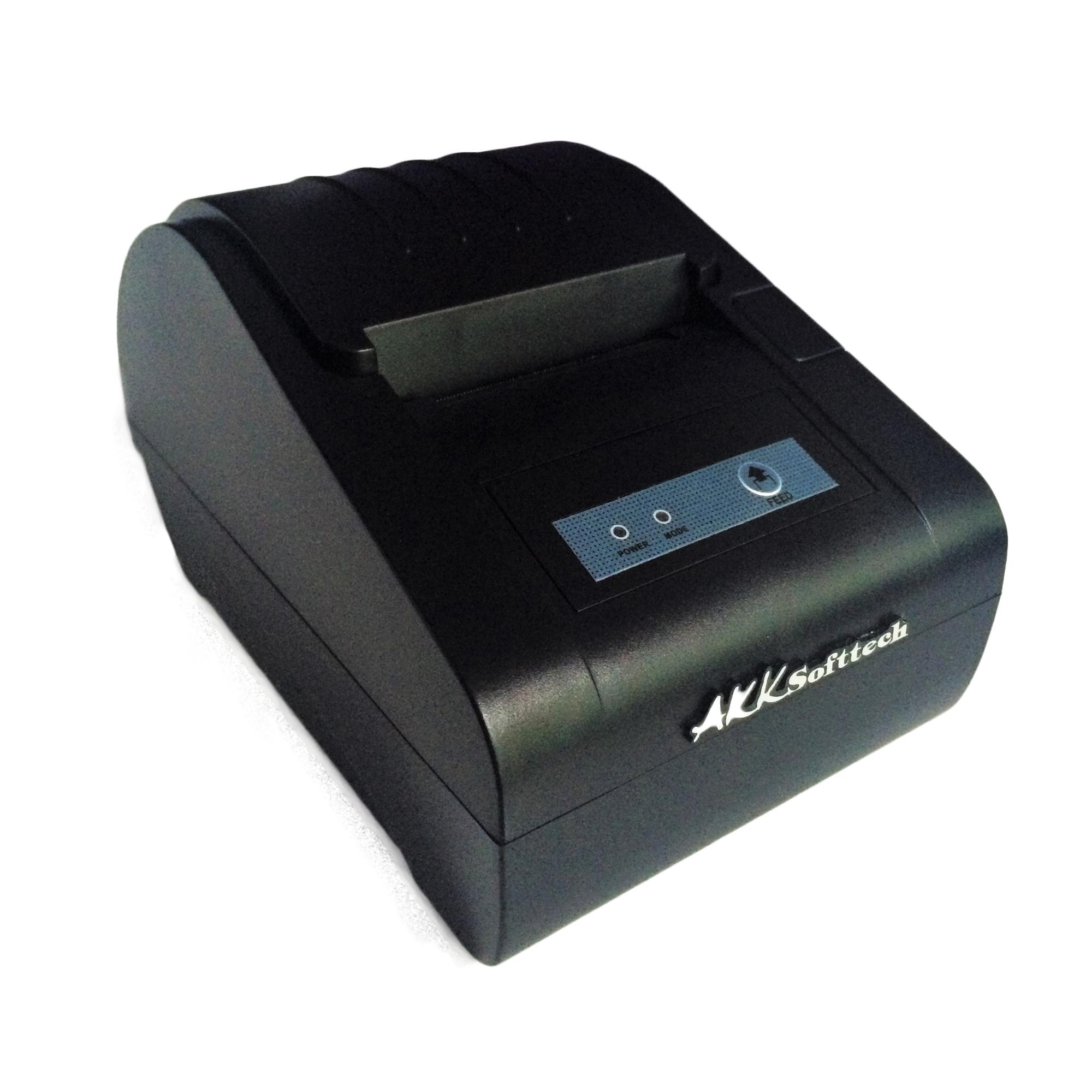 เครื่องพิมพ์ใบเสร็จหัวความร้อนขนาด 58 มม. ราคาถูก (IN-58B)