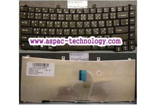 Keyboard ACER TravelMate 8200 8210 / Ferrari 5000 ภาษาไทย/อังกฤษ
