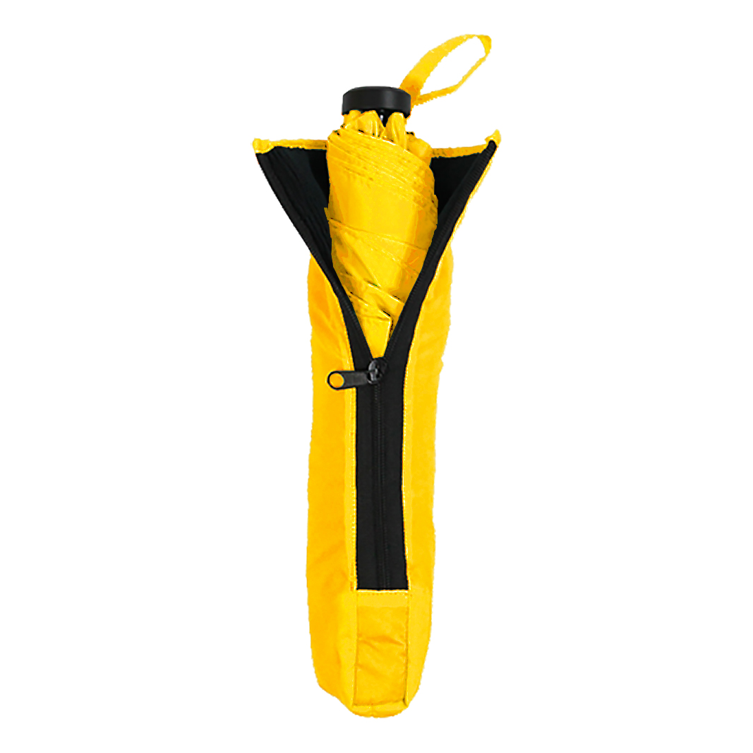 Air Light ร่มพับน้ำหนักเบาเป็นพิเศษ (ถุงใส่ร่มพับดูดซับน้ำ) - เหลือง