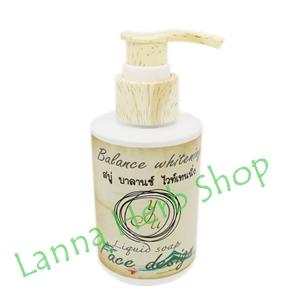 สบู่ บาลานซ์ ไวท์เทนนิ่ง Balance Whitening Liquid Soap ยู คอสเมติกซ์ (Yu Cosmetic)