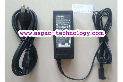 ASUS Original Adapter อแด๊ปเตอร์ของแท้ 19V 3.42A 65W หัว 4.0*1.35 MM