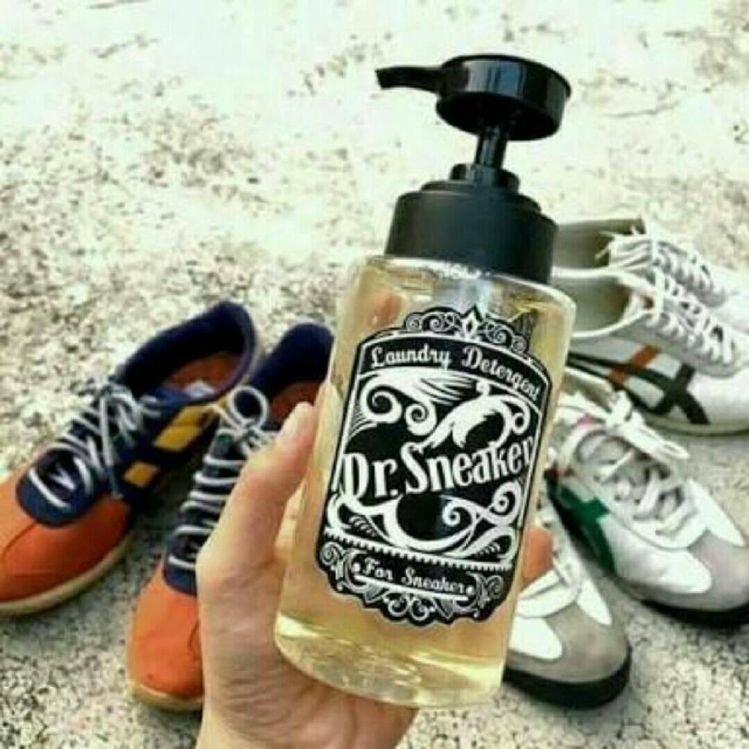 #Dr.Sneaker น้ำยาอเนกประสงค์สำหรับทำความสะอาดรองเท้า กระเป๋า และเครื่องหนัง