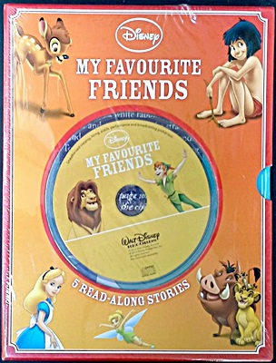 Disney My Favourite Friends: 5 Read-Along Stories