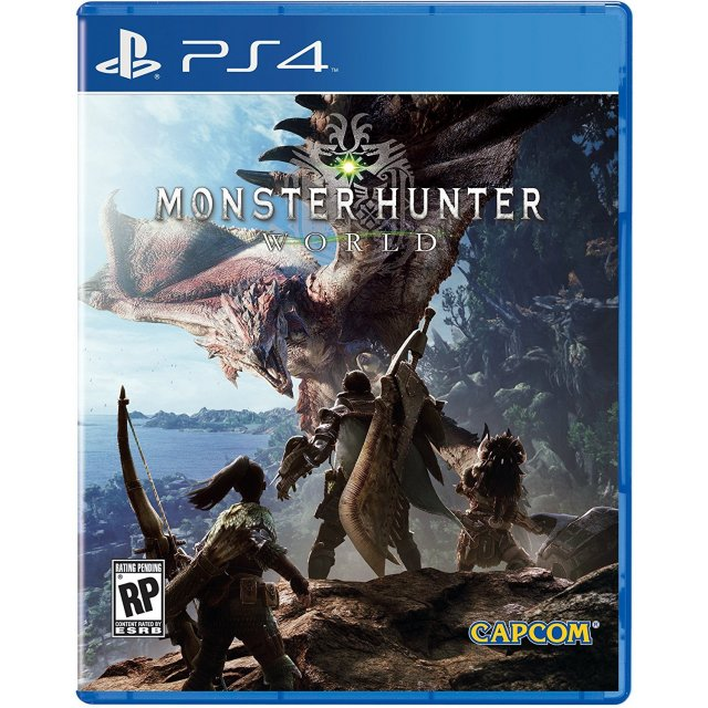 PS4 Monster Hunter World : Eng