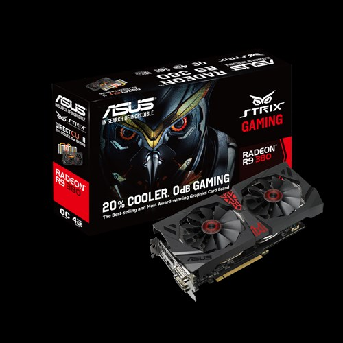 ASUS STRIX R9 380 DC2OC 4GB DDR5