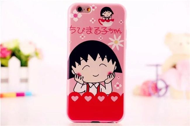 เคสยาง มารูโกะ และครอบครัว - เคส iPhone 6 / 6S